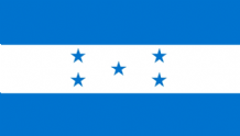 HONDURAS - HAND WAVING FLAG (MEDIUM)